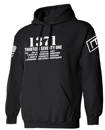 1371 (BLACK HOODIE)