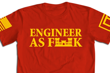 Engneer As Fk T-Shirt