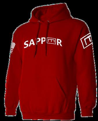 SAPPER TAB (RED HOODIE)