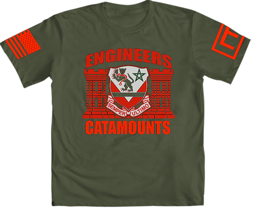 16th EN BN T-Shirt (OD Green)