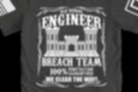 Engneer Breach Team T-Shirt