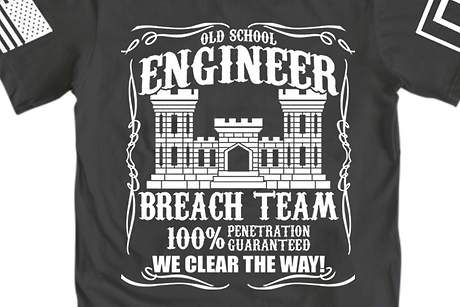 Engneer Breach Team T-Shirt