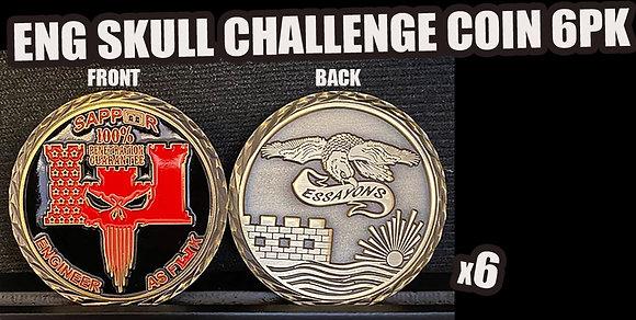 ENG SKULL COIN PACK (6PK)