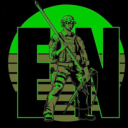 Combat Engineer Man - Night Vision