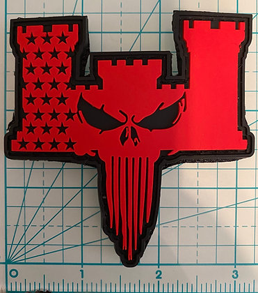 ENGINEER SKULL PATCH