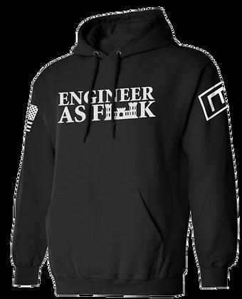 ENGINEER AS FK (BLACK HOODIE)
