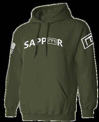 SAPPER TAB (OLIVE DRAB HOODIE)