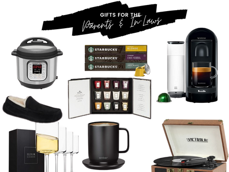 Gifts for Your Parents & In-Laws