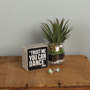 You Can Dance Kitchen Sign