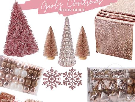 Christmas Decor Guide: Girly Christmas