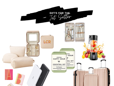Gifts for the Jet Setter