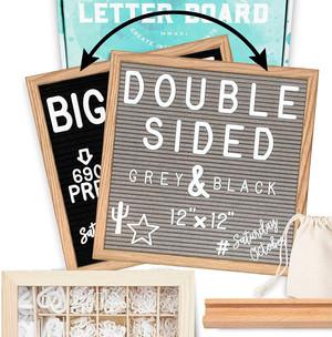 Reversible Letter Board