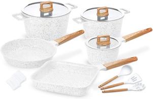 White Ceramic Pot Set