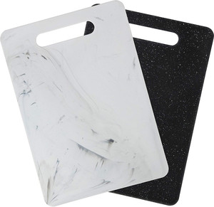 2-pack Marble Cutting Board