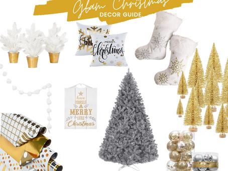 Christmas Decor Guide: Glam Christmas