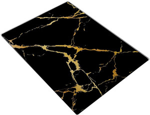 Black and Gold Marble Cutting Board