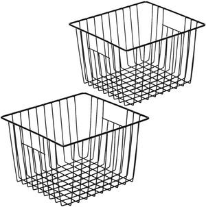 Black Wire Basket Set of 2