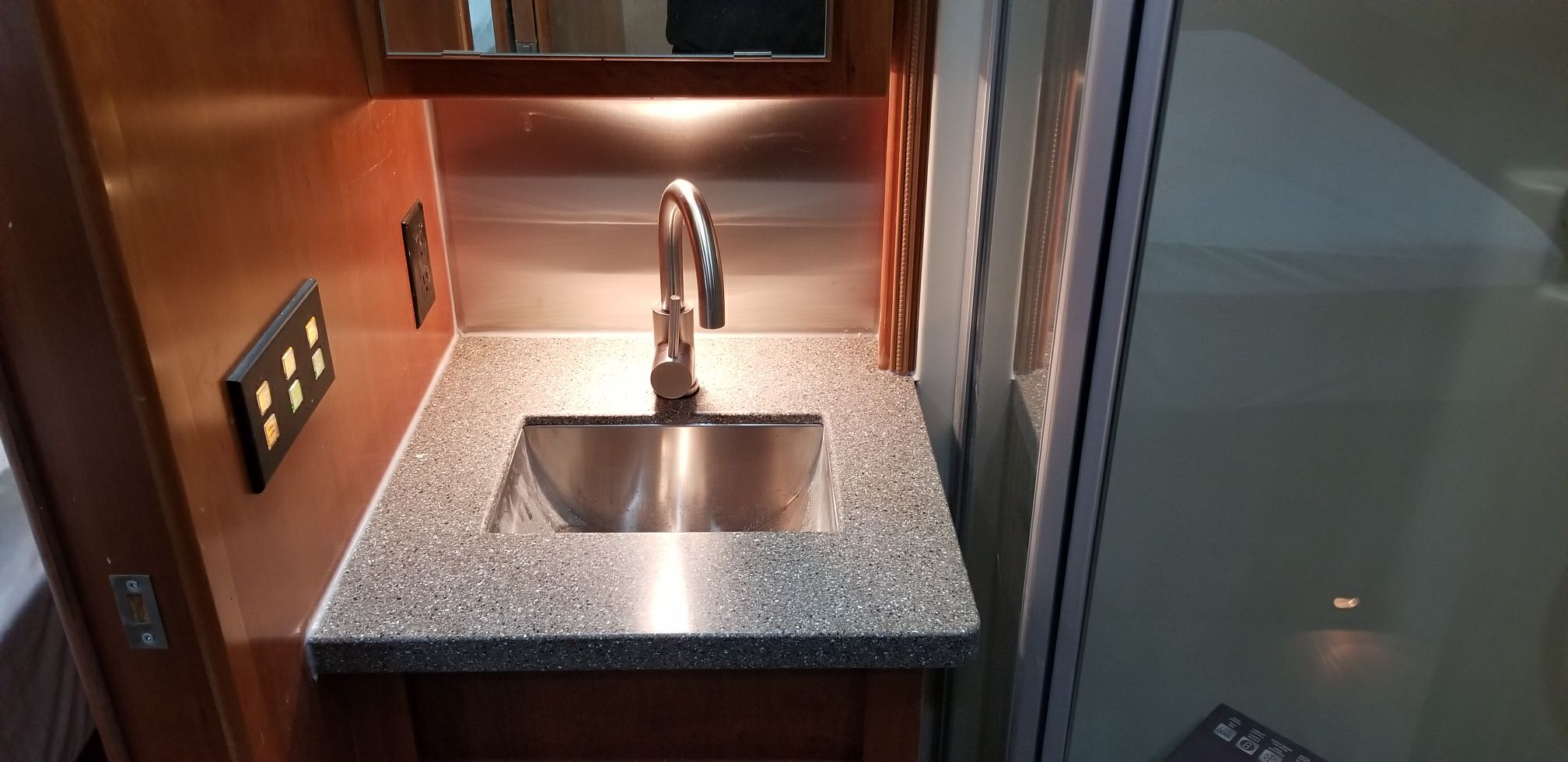 Sylvan Lake RV Sink