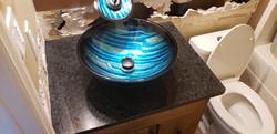 Coffee Brown Single Bowl Vanity