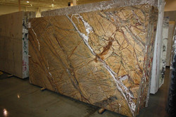 Rainforest Brown Leather 3cm C0785 001