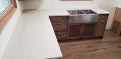 Peffenroth with farmhouse sink