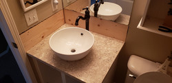 Bathroom vanity out of remnant
