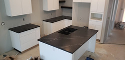 Coleway Showhome Black with white veinin