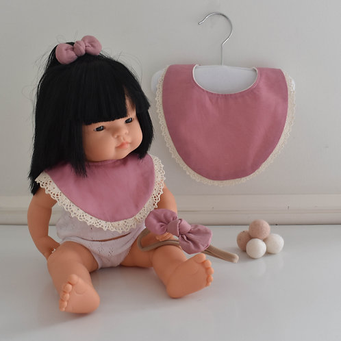Dusty Pink Me & My Dolly Matching Set