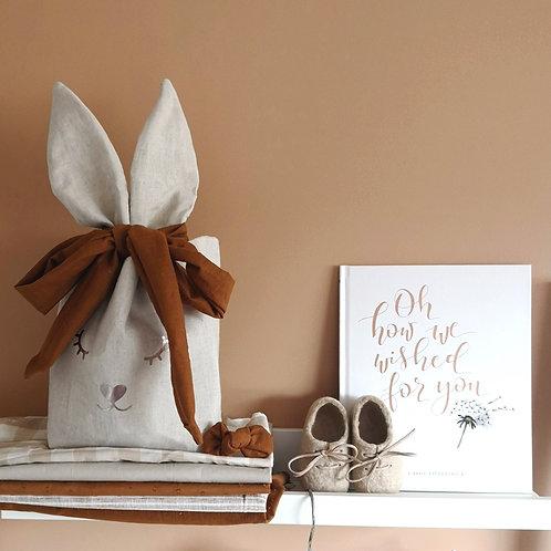 Easter Linen Baskets (3 Colours)