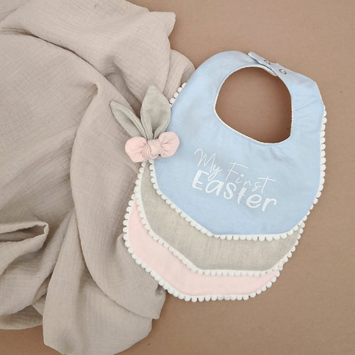 My First Easter Bibs