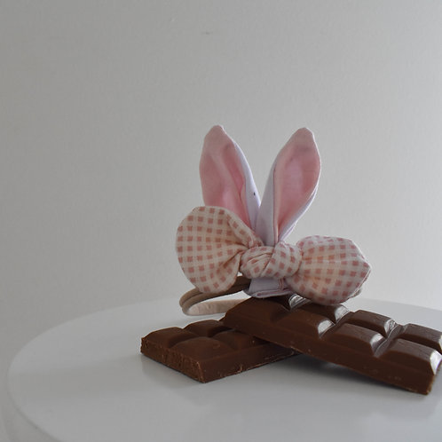 Bunny Ears Bow Pink