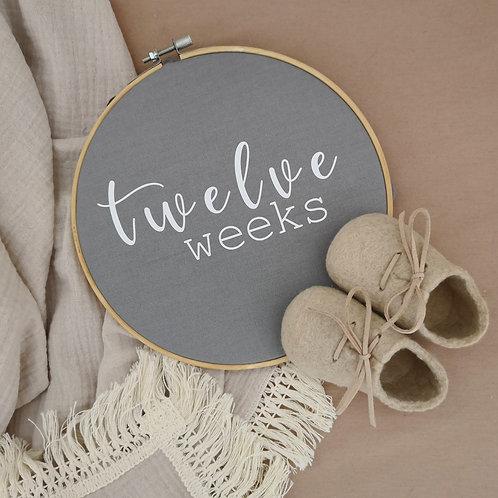 Pregnancy Week Frames (8 inserts)