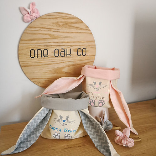 Personalised Easter Basket (various colours)