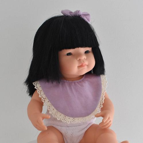 Lilac Dolls Bib