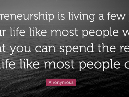 What Does Entrepreneurship Mean?