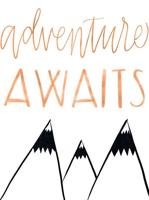 Adventure Awaits! Travel, adventure.