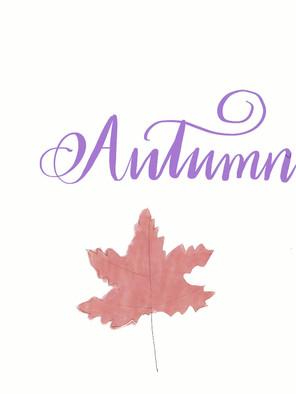 Autumn - work process
