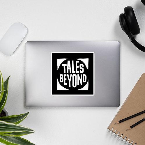 Tales Beyond White Logo Sticker