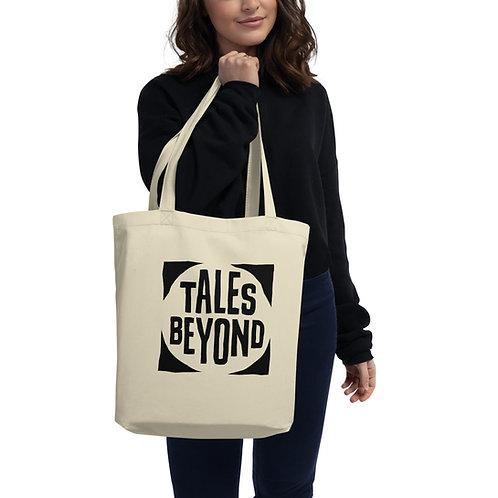Tales Beyond Deluxe Print Black Logo Eco Tote Bag