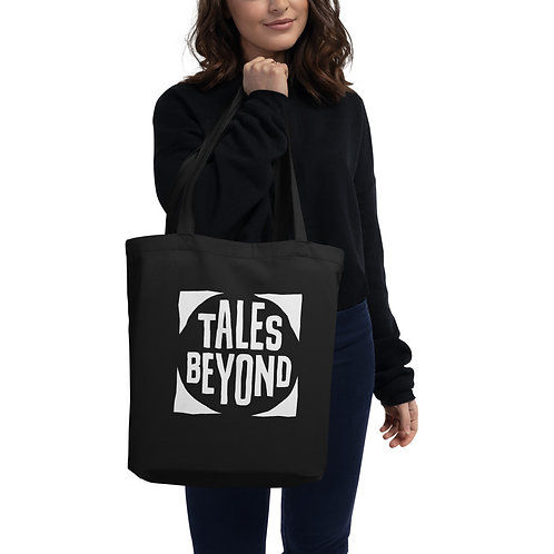Tales Beyond Deluxe Print White Logo Eco Tote Bag