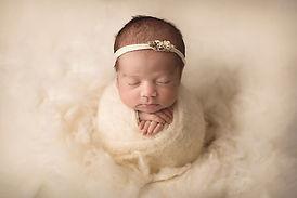 newborn baby potato sack pose