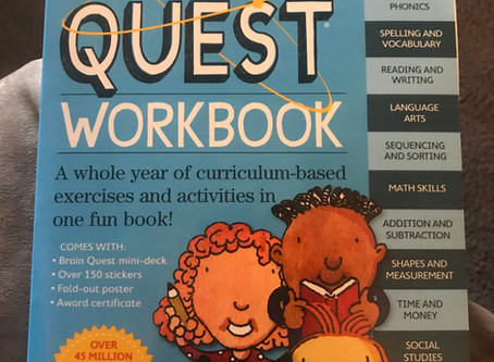 New workbook: brain Quest Work Book grade 1