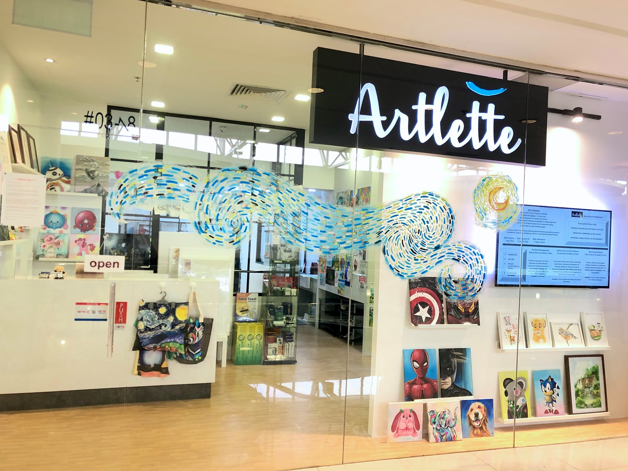 Artlette @ Thomson Plaza