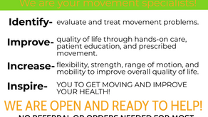 National Physical Therapy Month!!