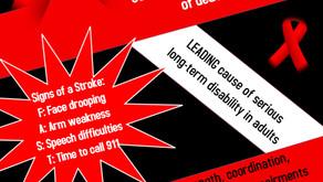Stroke Awareness Month!
