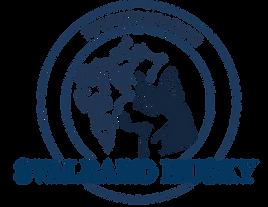 svalbard husky logo