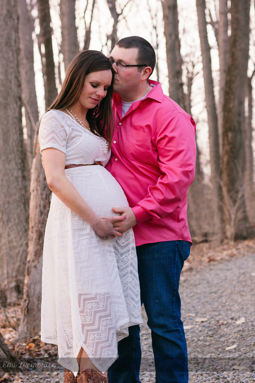 Maternity photography in newark ohio