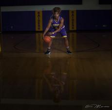 senior pictures basketball