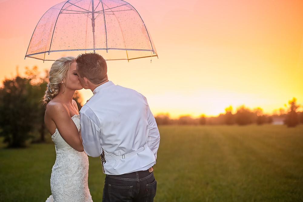 sunset Wedding Photography in Central Ohio