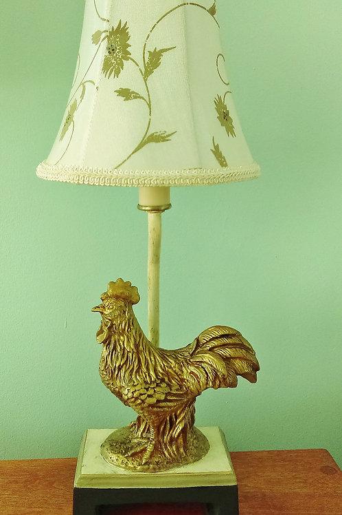 Elegant Vintage Rooster Night Light